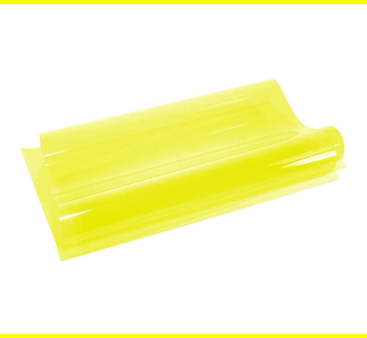 An image of 010 Medium Yellow Lighting Gel Sheet