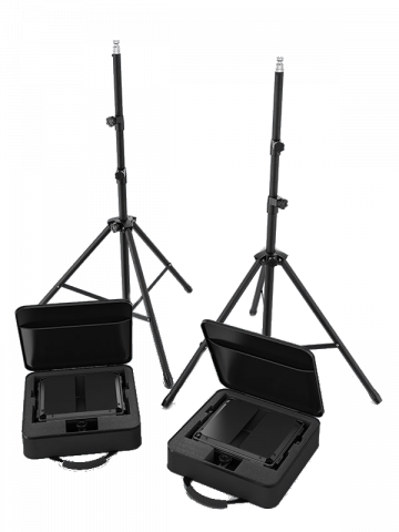 CHAUVET DJ Cast Panel Pack is everything you need for lighting up your online presence