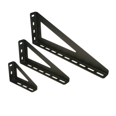 Doughty Slotted Wall Bracket T84105 | Stage Depot