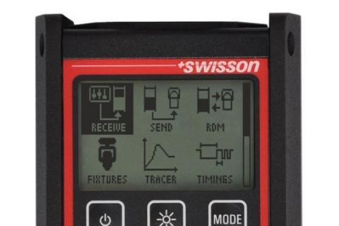 Swisson Xmt 350 Rdm Controller Dmx Tester Kit Stage Depot
