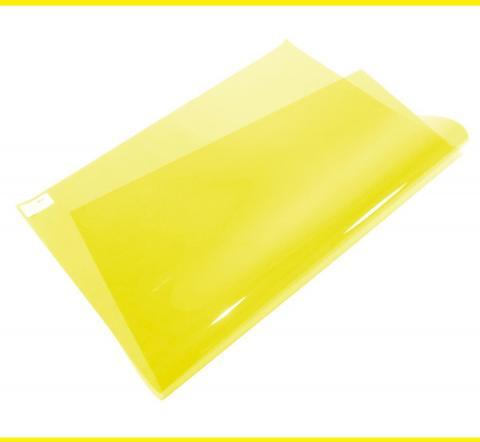 10 Medium Yellow Lighting Gel Sheet Stage Depot