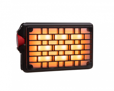 Rosco DMG DASH front image with flat diffusion grid