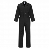 Portwest C815 Coveralls in Black Front View