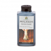 Mylands Black Polish 500ml for ebonising or colouring other polishes